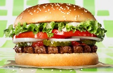 Burger King's meat-free burger isn't suitable for vegetarians or vegans