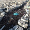 Mourners gather in 'million strong' crowd for funeral of Iranian general killed by US