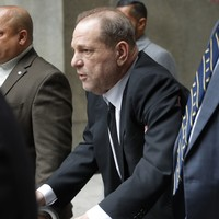 Harvey Weinstein charged with sexual assault in Los Angeles as New York trial begins