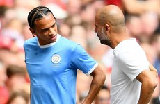 Sane 'close' to Man City return after five months out with knee ligament damage
