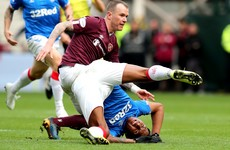 Hearts announce departure of Glenn Whelan