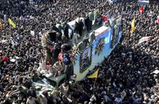 Over 50 people killed in stampede at funeral procession of Iranian general killed by US