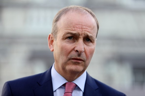 'An error of judgement': Martin criticises RIC commemoration but says those attending should be respected
