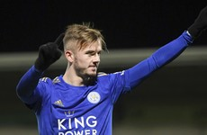 United target Maddison will be at Leicester beyond January, says Rodgers