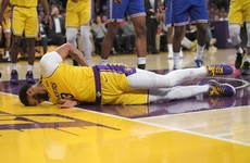 Davis injury scare for Lakers as Carmelo rolls back years and sinks last-gasp winner