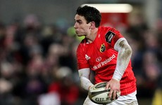 Munster confirm 'gutted' Joey Carbery will miss entire Six Nations