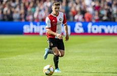Former Ireland U21 Kelly returns to English football on loan from Feyenoord