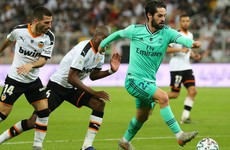 Real Madrid breeze by Valencia into Supercopa final