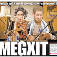 'Megxit', 'Queen's fury': The UK (and US) papers are having a field day over the bombshell royal news