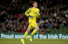 Ireland goalkeeper Travers 'too important' to be loaned out by Bournemouth