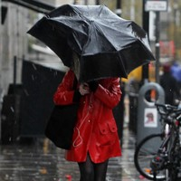Heavy downpours expected as 24-hour rainfall warning issued for four counties