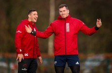 'We're getting closer and closer to scoring good tries' - Munster's Farrell
