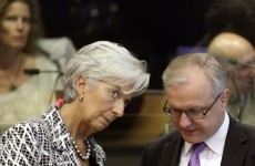 IMF head warns of 'acute stress' in Europe