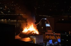 Emergency services tackling nightclub blaze in Derry