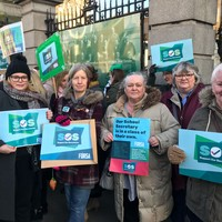 'We just want what's fair': School secretaries protest nationwide as they conduct work-to-rule action