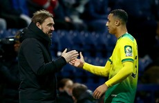 Idah in line for Old Trafford start as Norwich boss confirms striker shortage