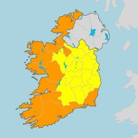 Status Orange wind warning issued for 11 counties as Storm Brendan approaches