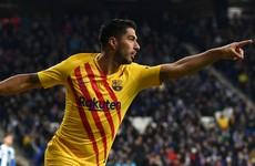 Barcelona confirm Suarez set for knee surgery