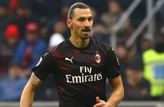 Zlatan Ibrahimovic inspires Milan on first start