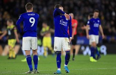 Leicester's faint title hopes suffer another blow