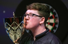 Irish teen Keane Barry becomes dual darts world champion