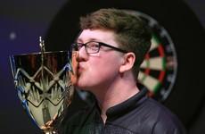 Irish teen Keane Barry becomes dual darts world champion