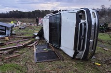 Storms and tornadoes leave at least 10 dead across US