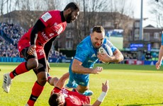 Kearney double helps Leinster sweep aside Lyon