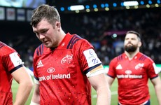 Munster's European campaign all but over as Racing finish over the top in Paris
