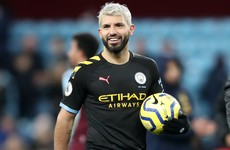 Guardiola hails record-breaker Aguero as 'one of the most incredible players I've seen in this league'