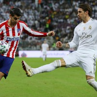 Ramos scores the decisive penalty to win the Supercopa for Real Madrid