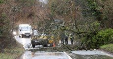 Storm Brendan: 32,000 still without power as Status Orange warning remains for five counties until midnight