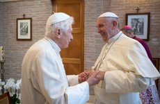 Former Pope Benedict makes 'incredible' plea to Pope Francis not to end clerical celibacy