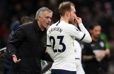 Mourinho says 'I'm not an idiot' over Eriksen form