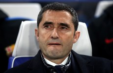 Barcelona sack Valverde as manager