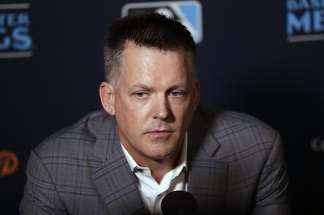 File photo of Houston Astros manager A.J. Hinch.
