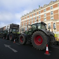Road closures from 10am in Dublin city tomorrow as 400 tractors set to converge for farming protest