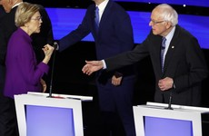 Democratic debate: Warren appears to reject handshake with Sanders after sexism row