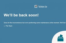 Voter.ie to come back online soon after being down for over 18 hours