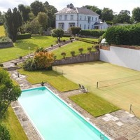 Make every day a holiday at this €1.7m period home with its own heated pool