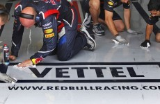 Vettel leads second session in Valencia