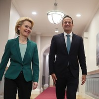 Varadkar said it's 'only half-time' on Brexit as he meets new European Commission president