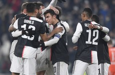 Ronaldo out with sinusitis, but Juventus still prevail