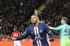 Mbappe at the double amid VAR controversy in PSG-Monaco clash