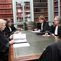 Supreme Court sits with highest proportion of female judges on bench ever