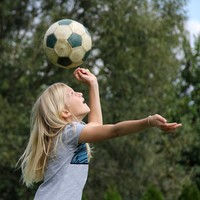 Poll: Should children under the age of 12 be banned from heading footballs?