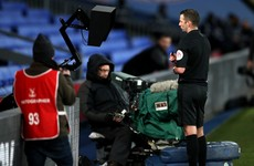 Premier League refs told to use monitors for red cards