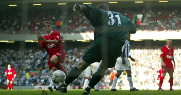 From saving a Michael Owen penalty to setting up another Liverpool clash 18 years later