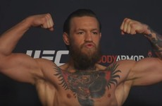 McGregor and Cerrone make weight ahead of UFC 246