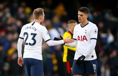 Watford stalemate hits Spurs' European hopes